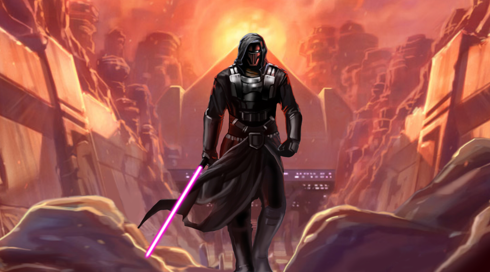 The Old Republic wallpaper Revan by zardis1965 1918x1063