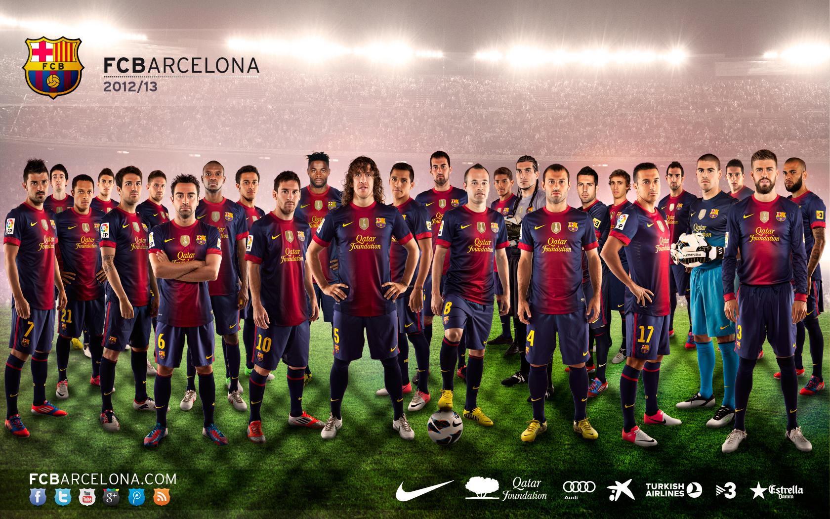 FC Barcelona Bara 1680x1050