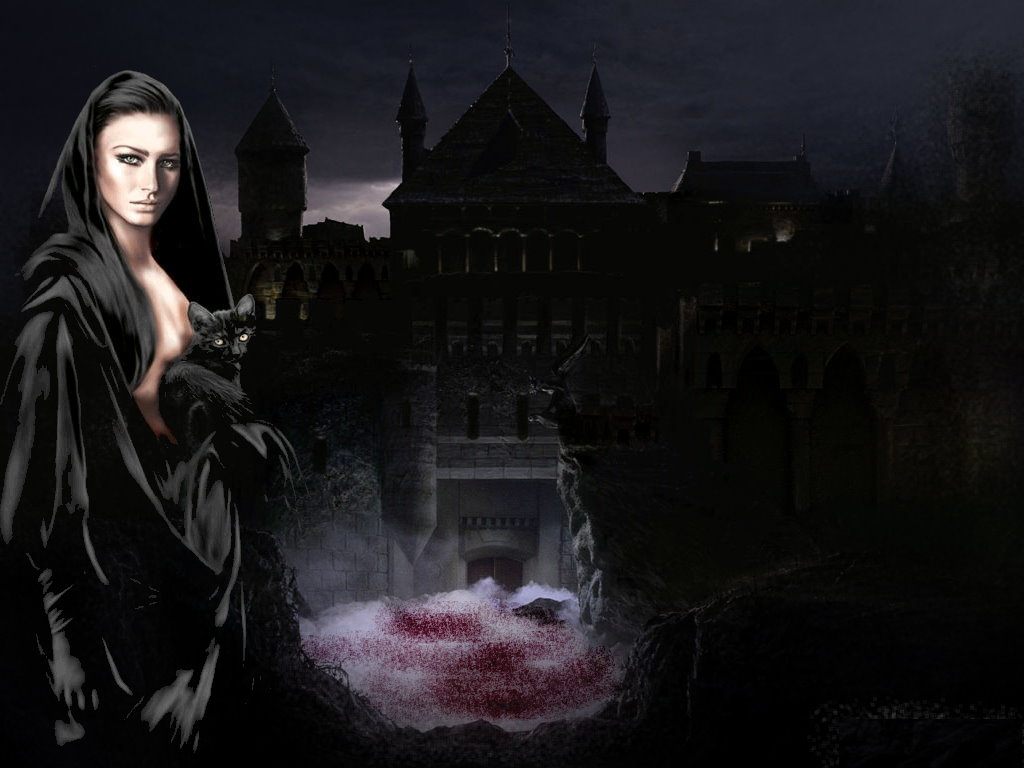 gothic wallpapers Scary Wallpapers 1024x768