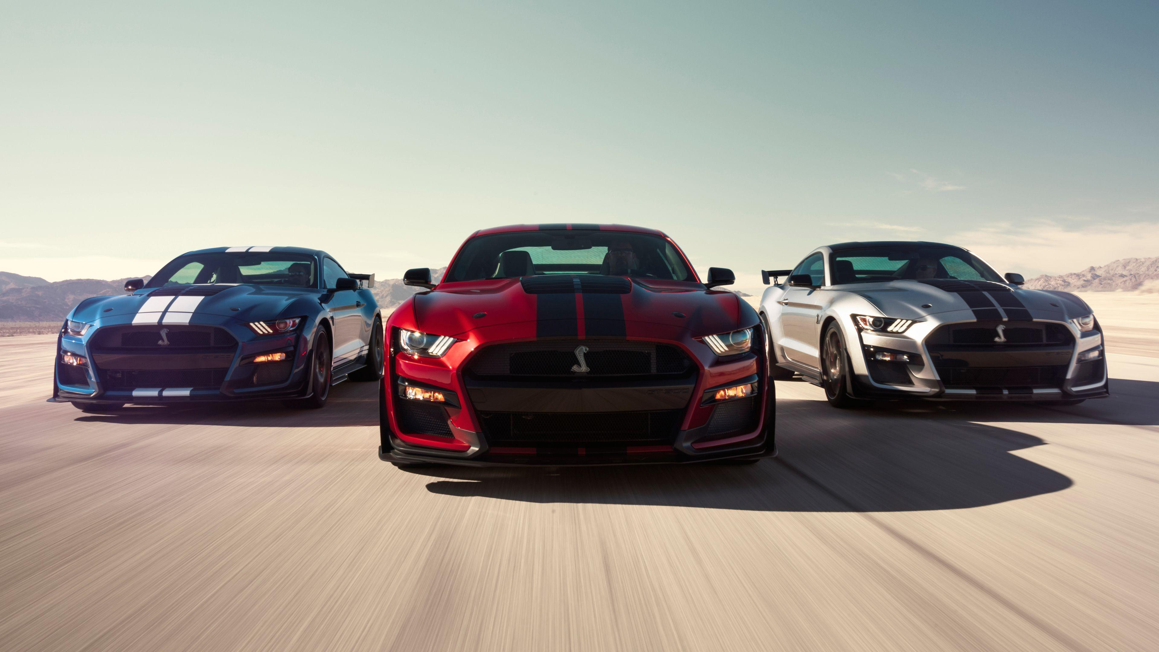 Ford Mustang 2020 Wallpapers 3840x2160