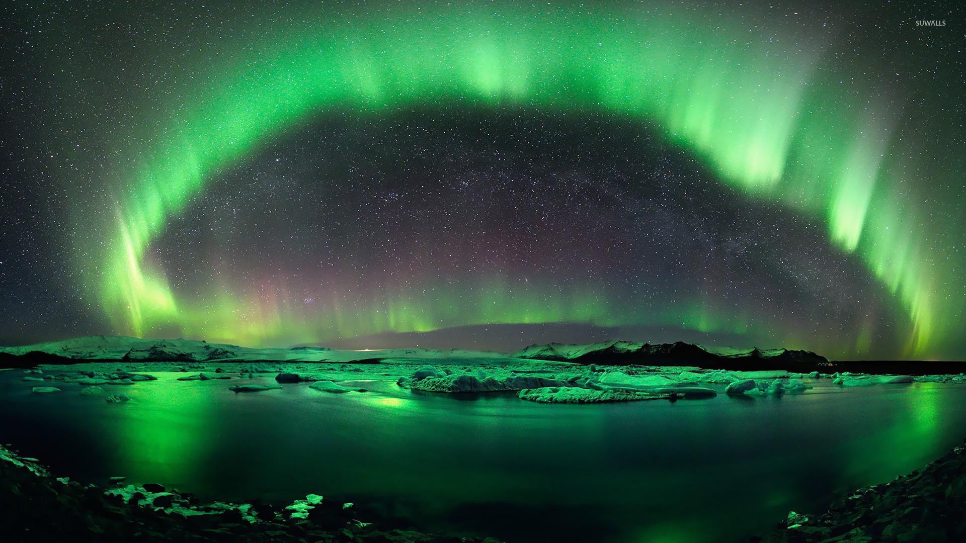 Aurora borealis wallpaper - Nature wallpapers - #14246