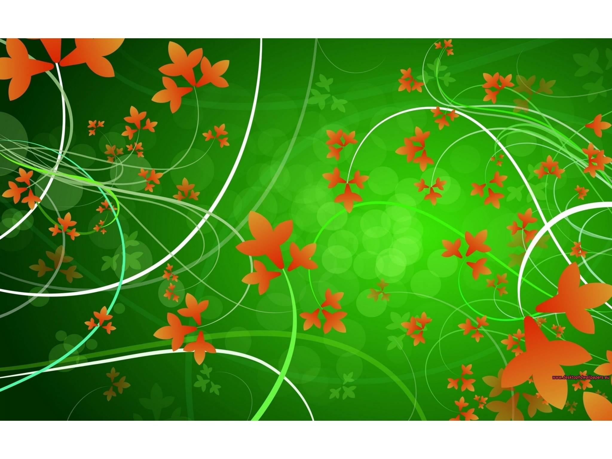 Wallpapers Backgrounds   Orange Flowers Wallpaper 2048x1536 Resolution 2048x1536