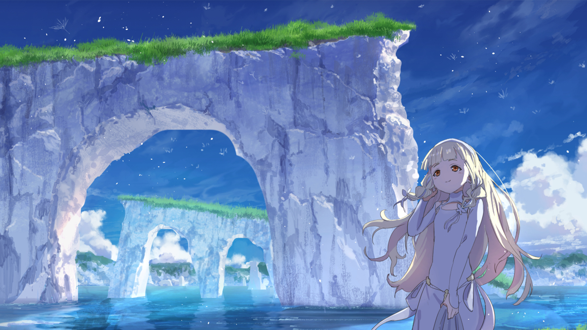 Maquia When the Promised Flower Blooms HD Wallpaper Background 1920x1080