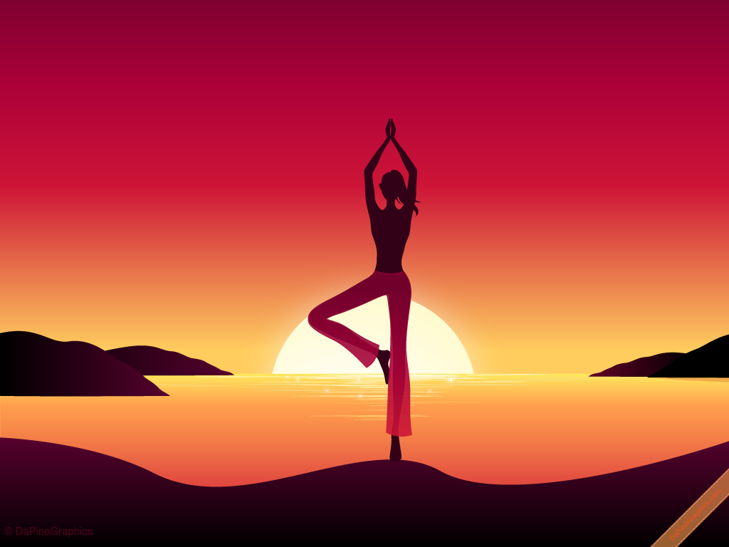 Free Download Yoga Girl By Sunset Wallpaper Dapinographics 1024x768 For Your Desktop Mobile Tablet Explore 36 Yoga Wallpaper Download Yoga Zen Wallpaper Yoga 2 Pro Wallpaper Yoga Desktop Wallpaper