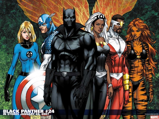 Black Panther 1998 24 Wallpaper Civil War Wallpapers Apps 550x412