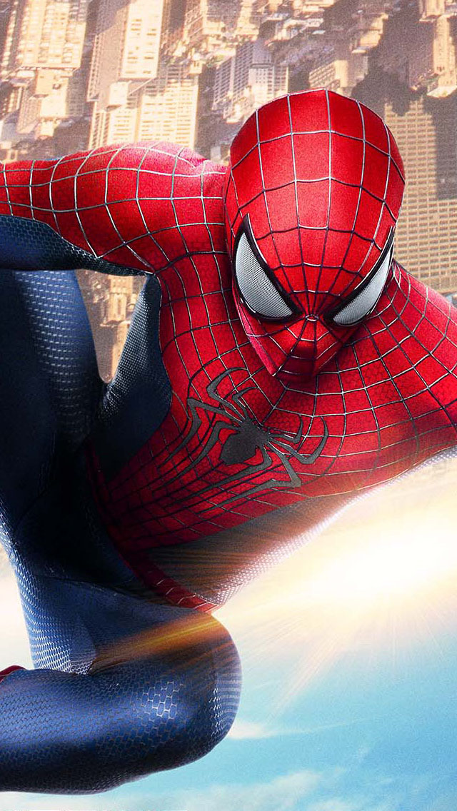 creative spiderman symbol iphone 5 5s 5c wallpaper Car Pictures 640x1136