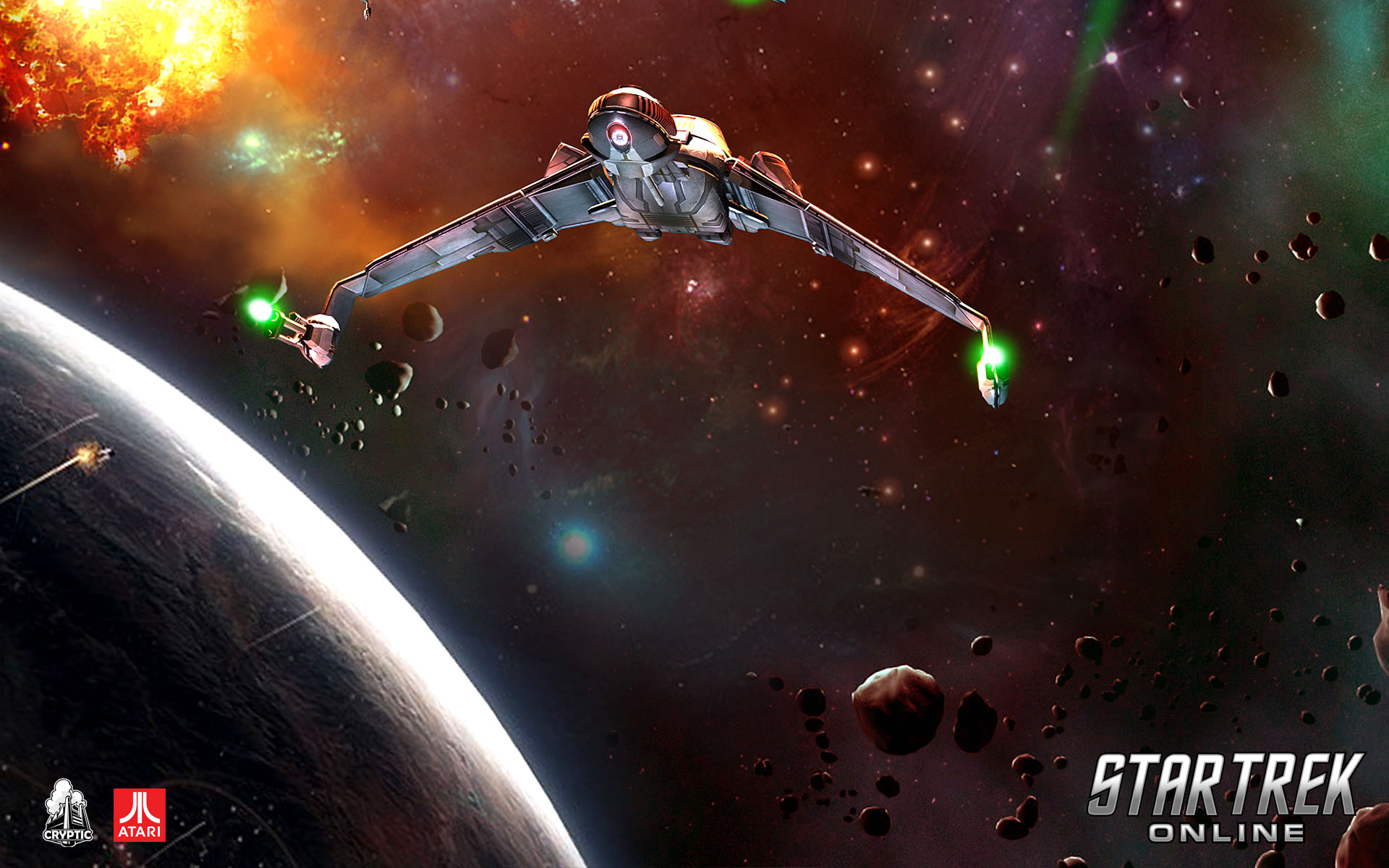 Star Trek Online Desktop Wallpapers for HD Widescreen and 1920x1200