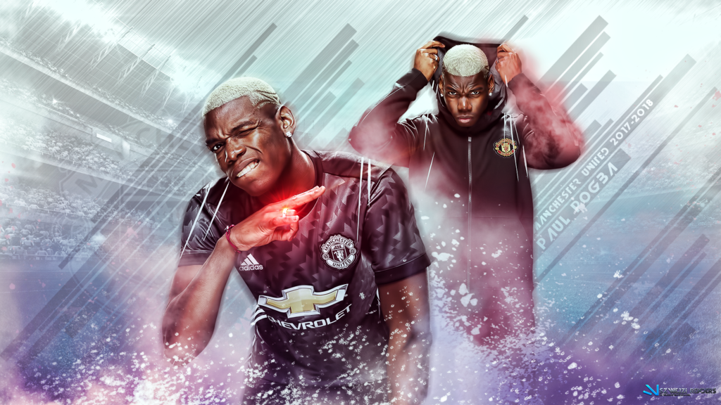 Paul Pogba Manchester United 2017 2018 Wallpaper by 1024x576