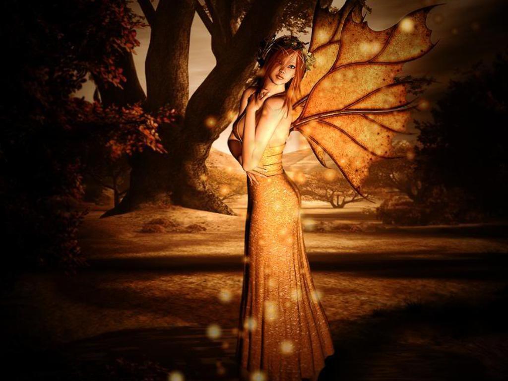 spring fairy desktop wallpaper wallpapersafari