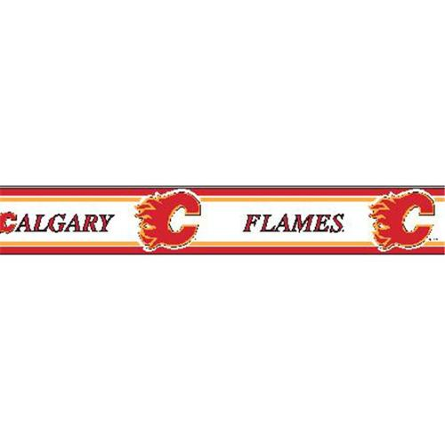TX RB FLAM Calgary Flames 5 5 inch Wallpaper Border   Walmartcom 500x500