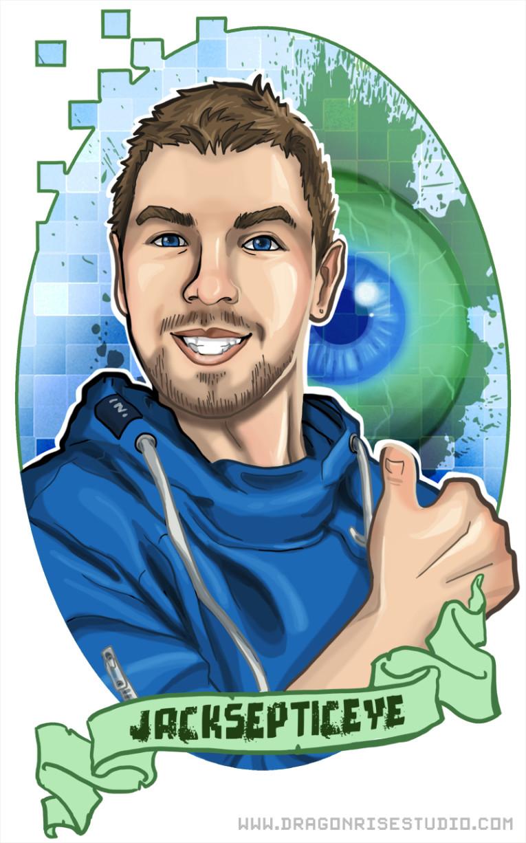 Jacksepticeye Fan Art 765x1226
