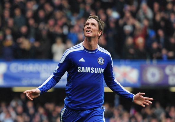 Pictures Photos Images Fernando Torres Chelsea vs QPR 2012 594x416