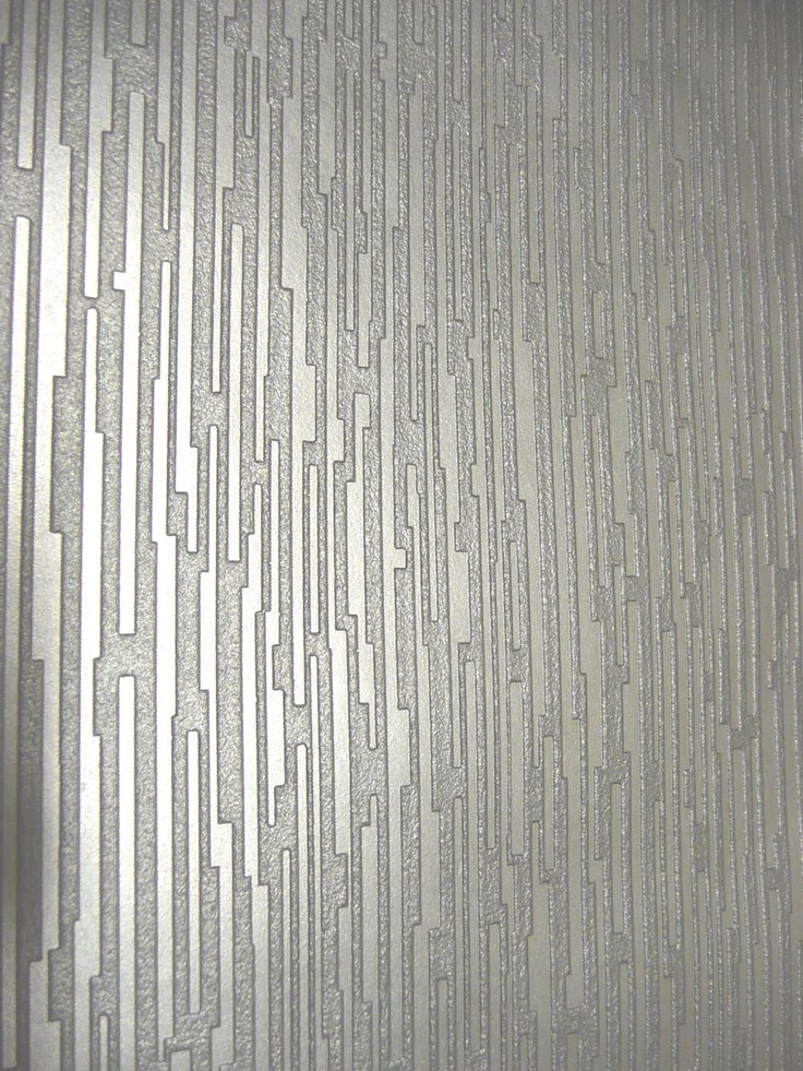 Silver Textured Wallpapertexture and metallic for accent wall 736x981