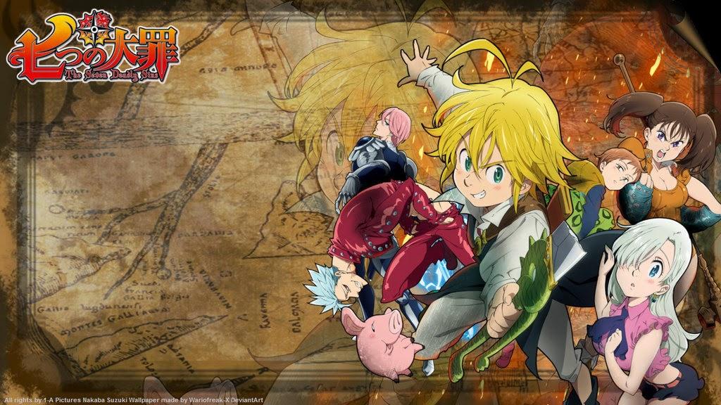 [47+] Seven Deadly Sins Anime Wallpaper on WallpaperSafari