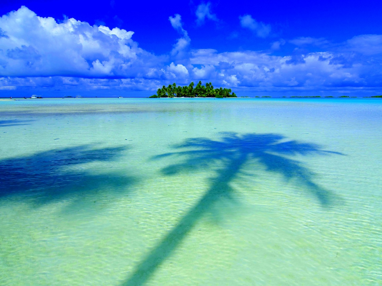 free 1280X960 Tropical Island Panorama 1280x960 wallpaper screensaver ...