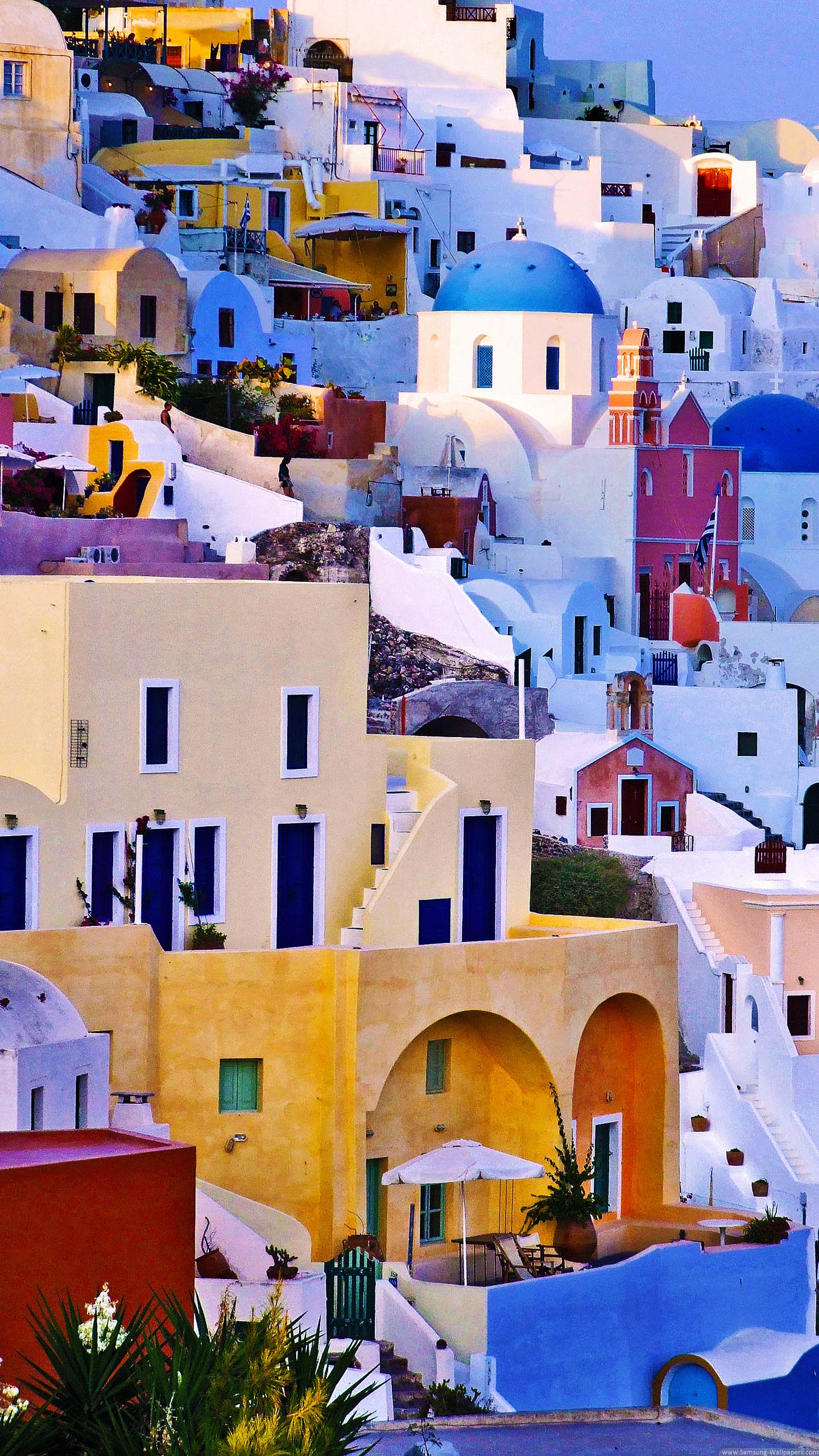 Colorful Houses Lock Screen 1440x2560 Samsung Galaxy S5 Wallpaper 1440x2560