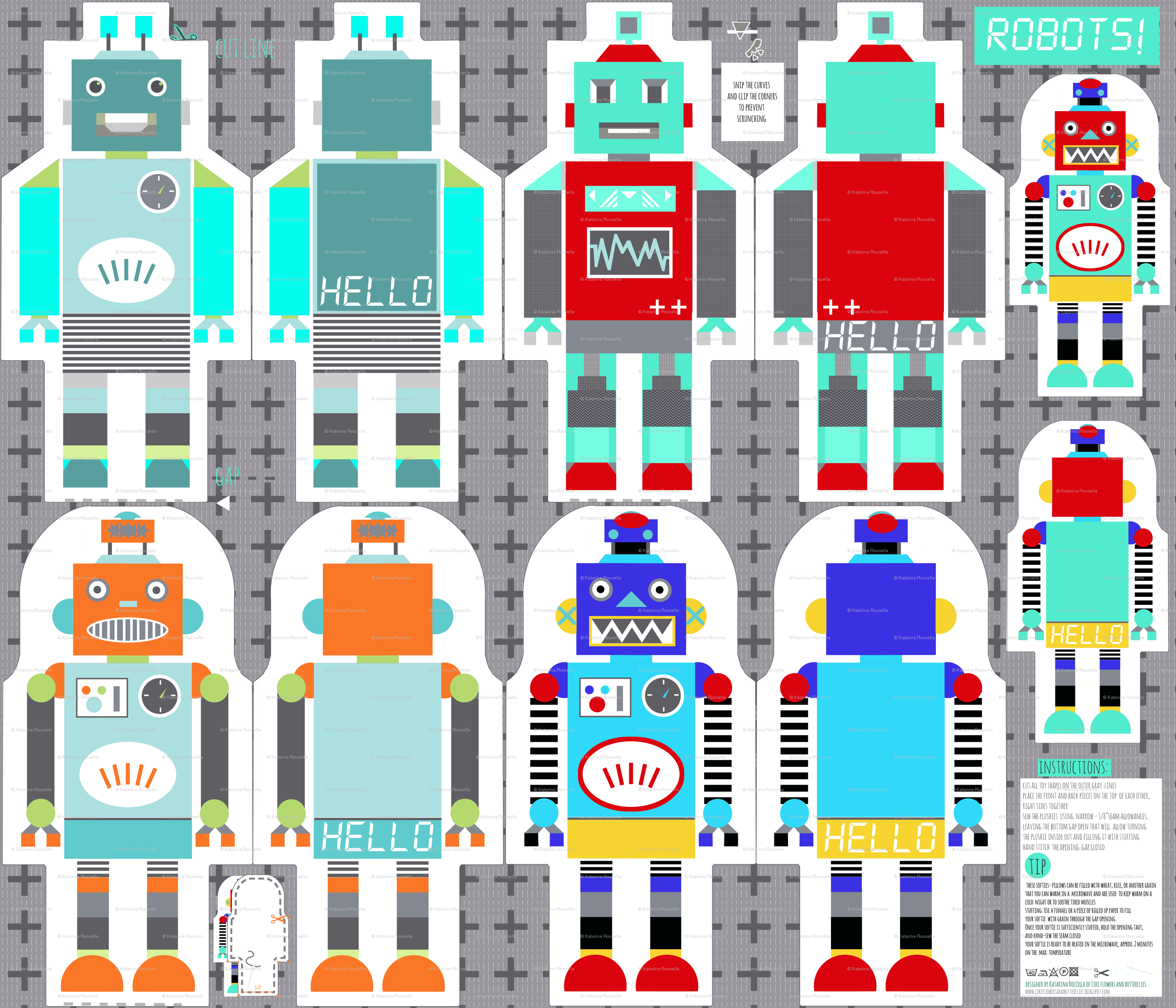Retro Robot Wallpaper Robots toy template highrespng 3150x2700