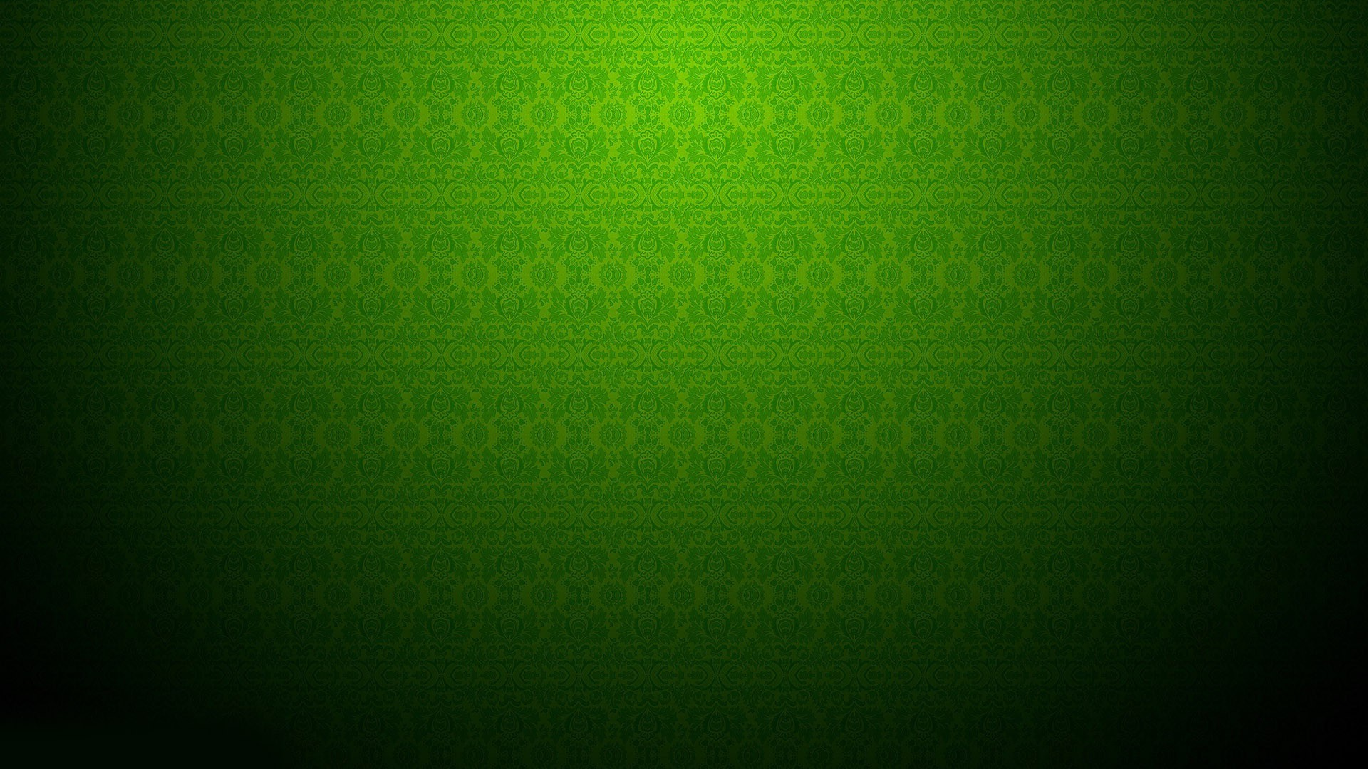 Green Vintage Pattern Wallpaper 10677 1920x1080