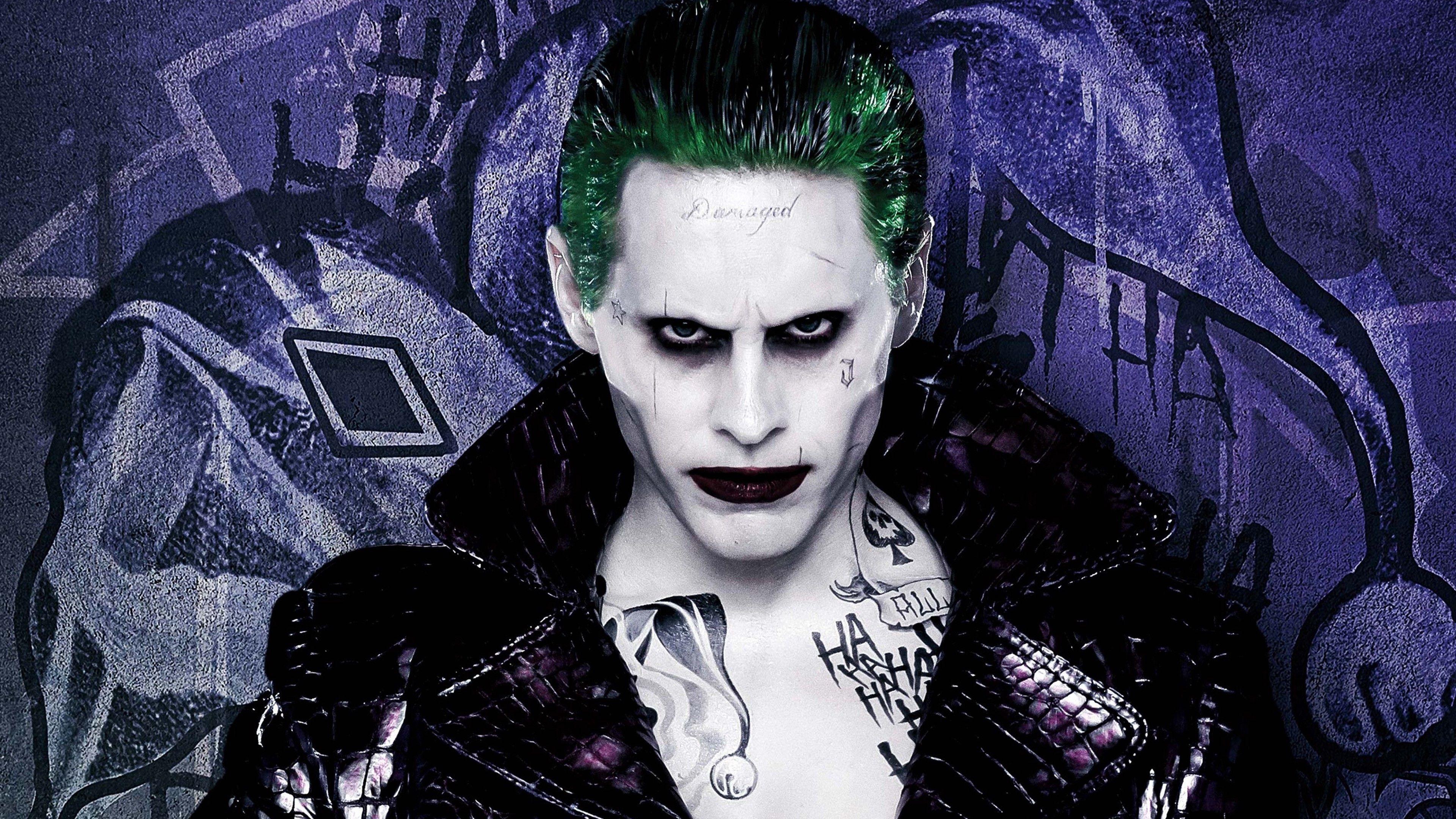 Joker Suicide Squad 4K Wallpapers   Top Joker Suicide Squad 3840x2160