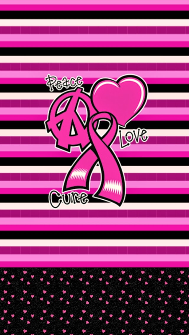 Dazzle my Droid breast cancer awareness month wallpaper 640x1136