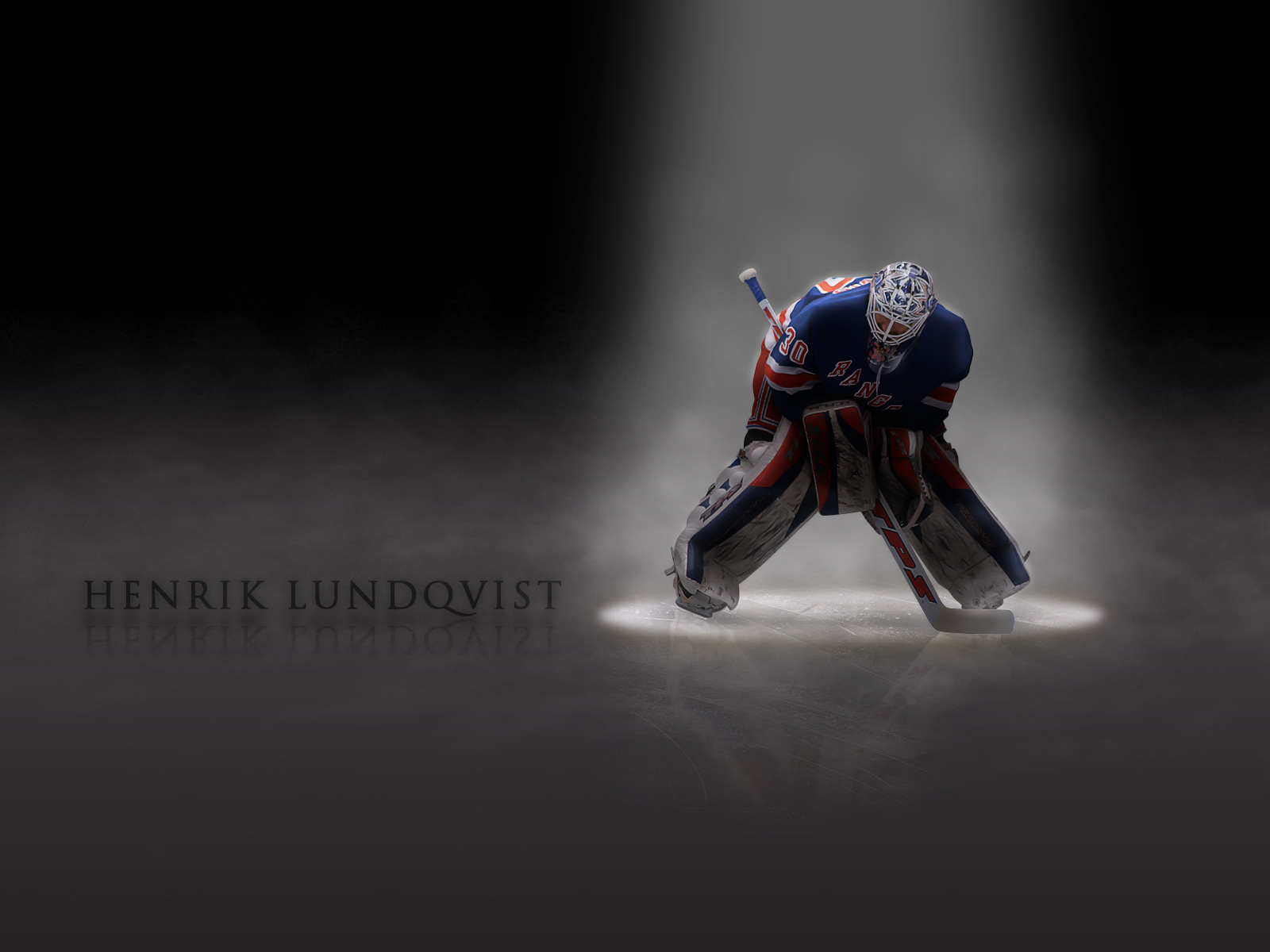 Hockey Henrik Lundqvist New York Rangers wallpaper 1600x1200 1600x1200