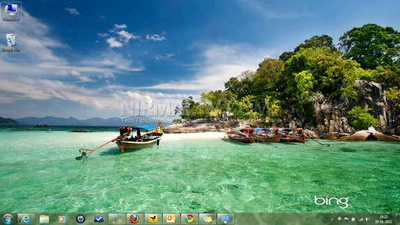 Best of Bing 5 and Best of Bing China Themes for Windows 7 575x323