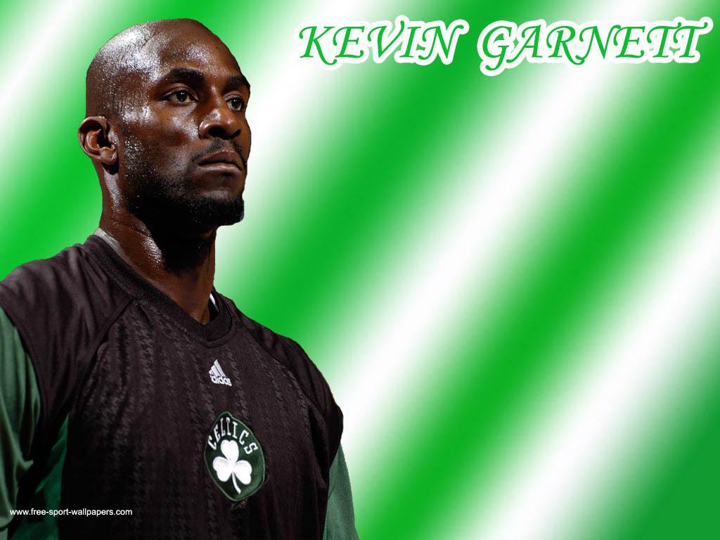 Kevin Garnett Wallpaper A Typical Scene of the Celtics 1024x768