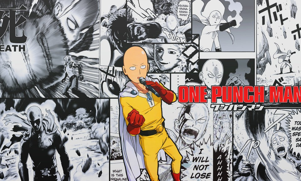48+] One Punch Man Wallpaper 4K on WallpaperSafari