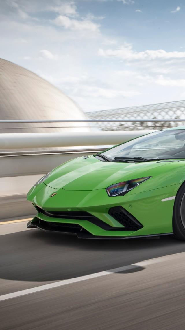 Wallpaper Lamborghini Aventador S cars 2017 4k Cars Bikes 15574 640x1138