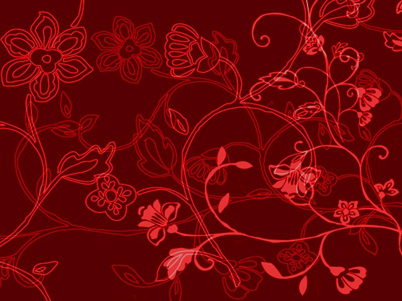Red Flower Black Background - WallpaperSafari