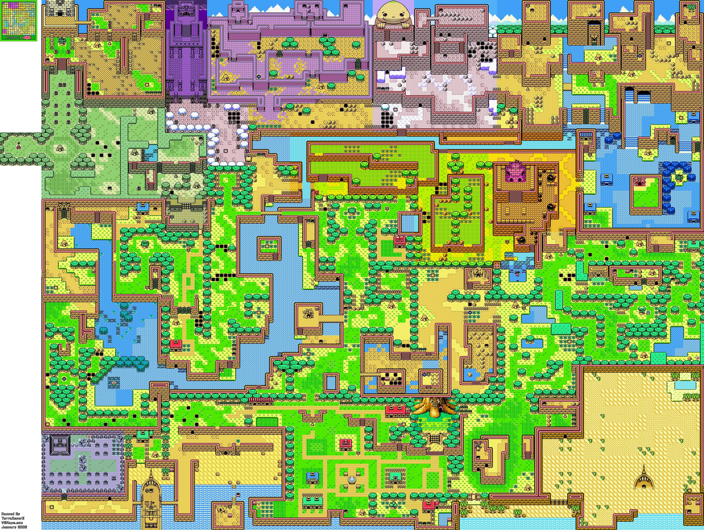 Zelda Capital   Oracle of Seasons   General Maps 2720x2048