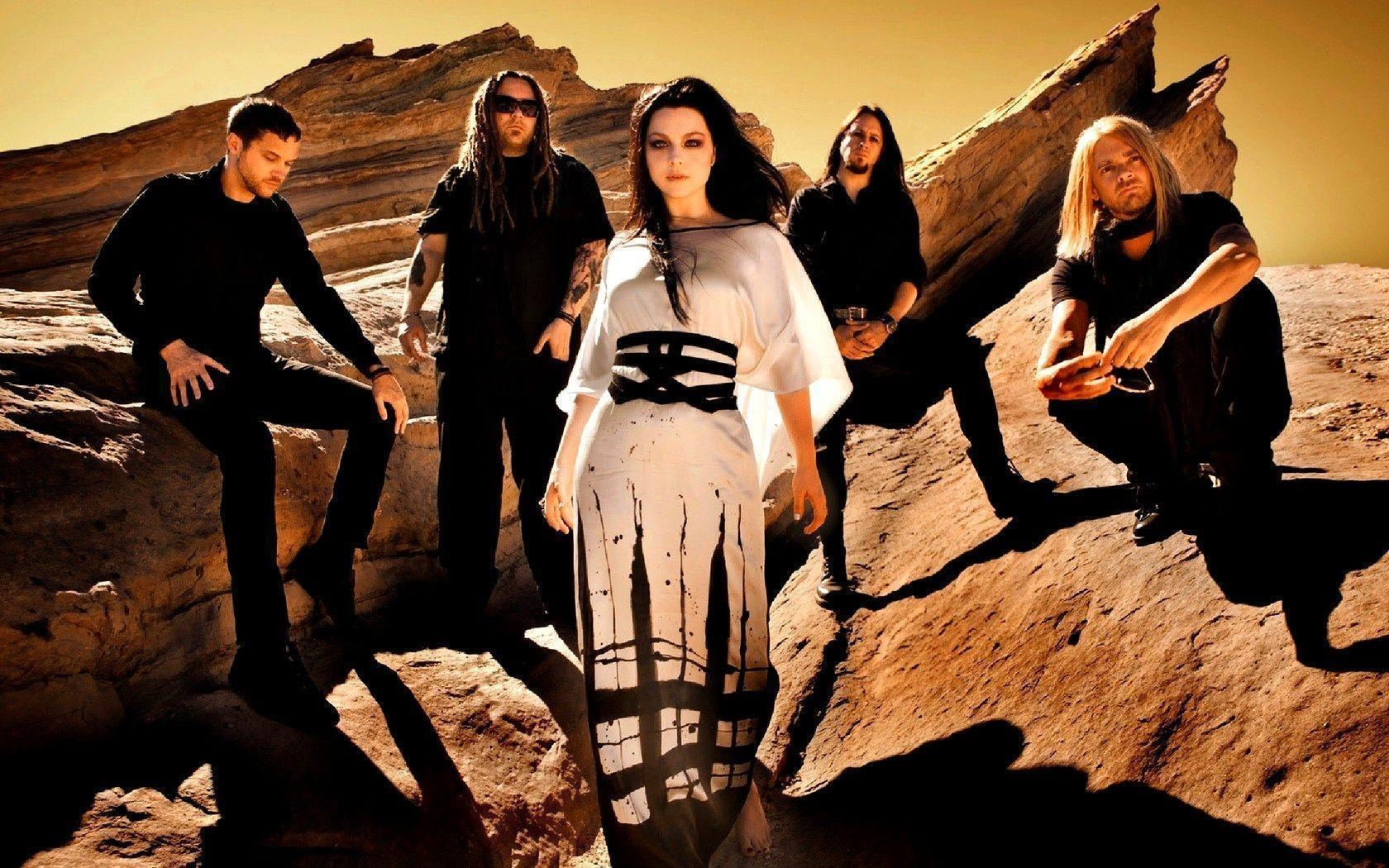 Evanescence 2017 Wallpapers 1680x1050