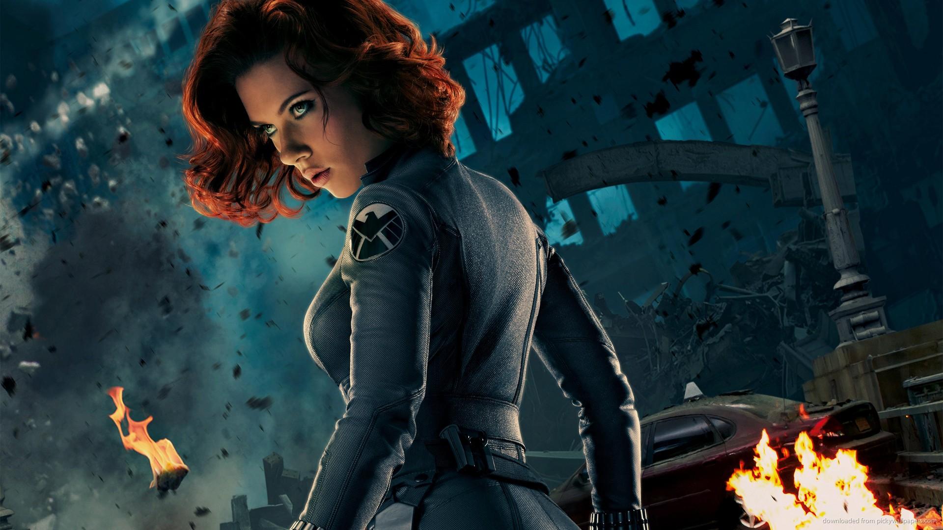 65 Scarlett Johansson Black Widow Wallpaper On Wallpapersafari