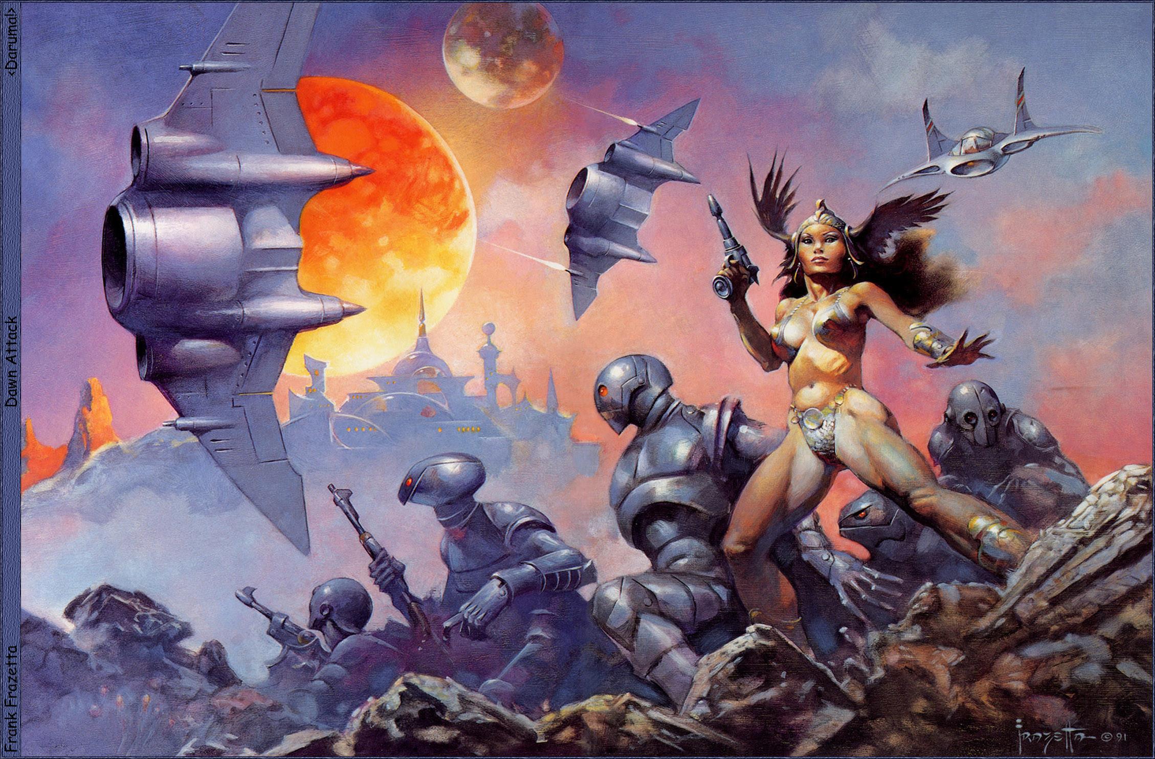Frank Frazetta Fantasy Widescreen Wallpapers 43 images 2258x1485