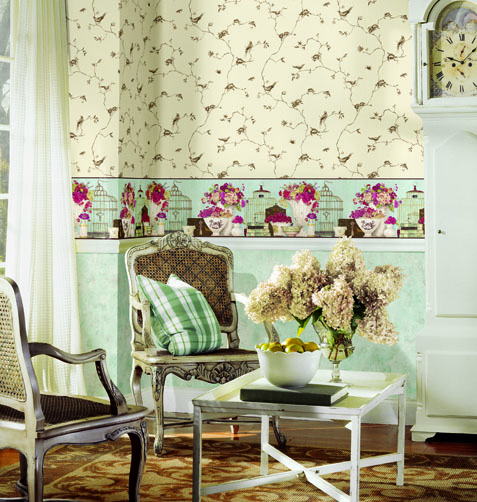 Wallpaper Chair Rail