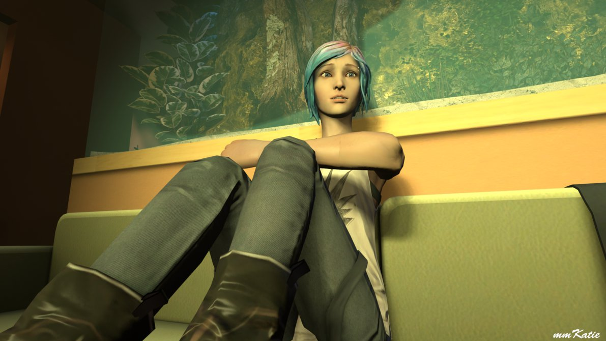SFM] Chloe Price Wallpaper different angle by mmKatie 1191x670