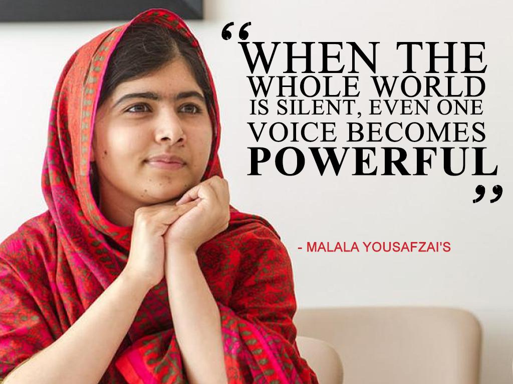 Malala Yousafzai Wallpaper 14   1024 X 768 stmednet 1024x768