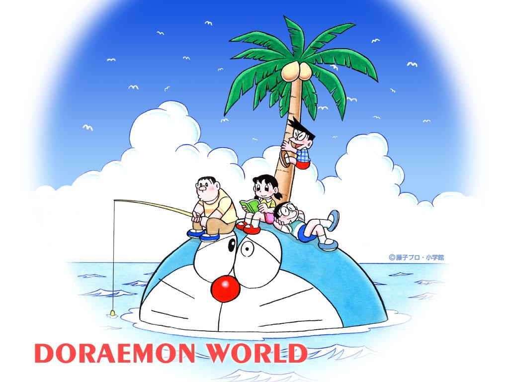 Doraemon Wallpaper 1024x768
