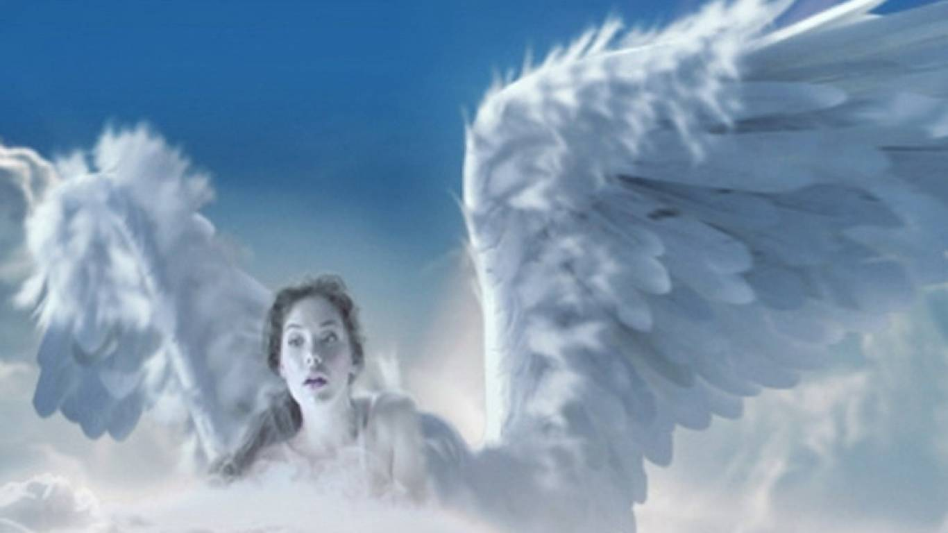 Angels WIngs   Angel Wallpaper 1366x768
