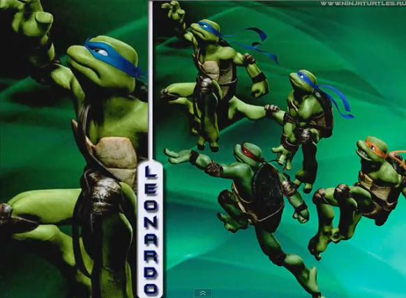 Free Download Tmnt 2007 Wallpaper Leonardo By Kemperino9 582x427