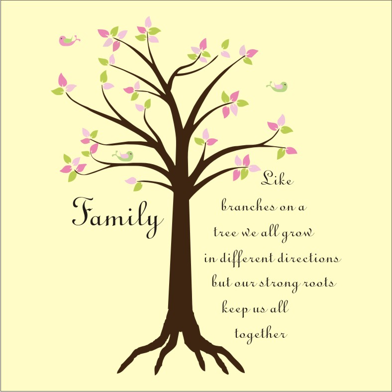 Family wallpaper quotes wallpapersafari - Family tree desktop wallpaper ...