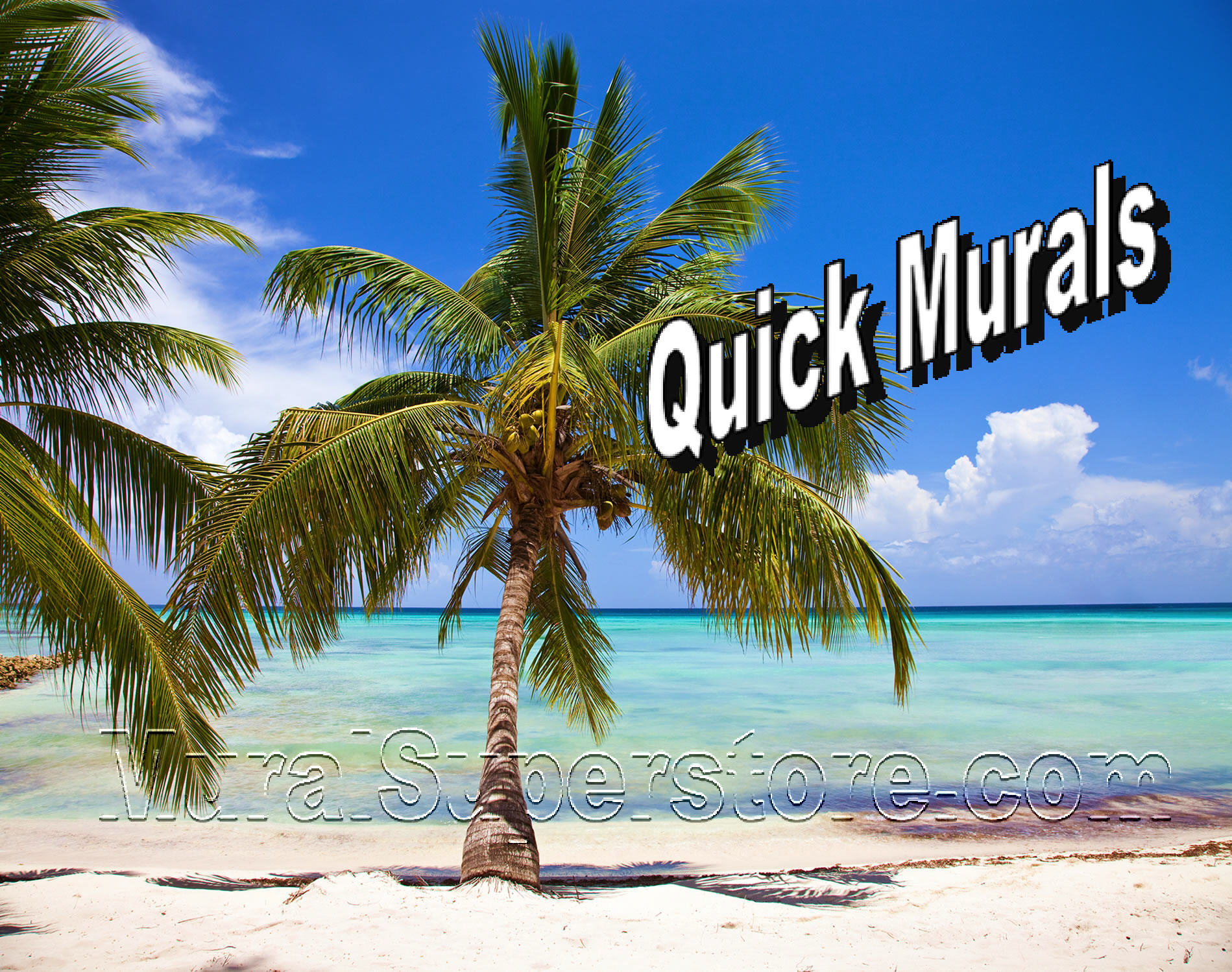 tropical sunset wallpaper murals tropical beach mural 1899x1499