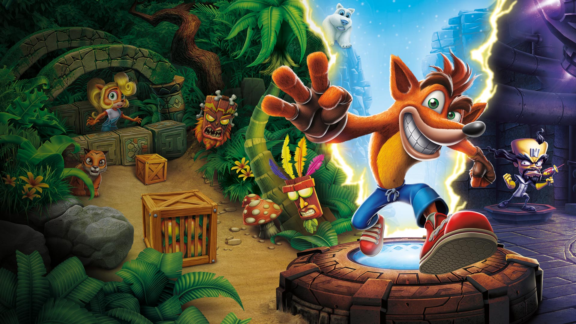 Crash Bandicoot HD Wallpapers and Background Images   stmednet 1920x1080