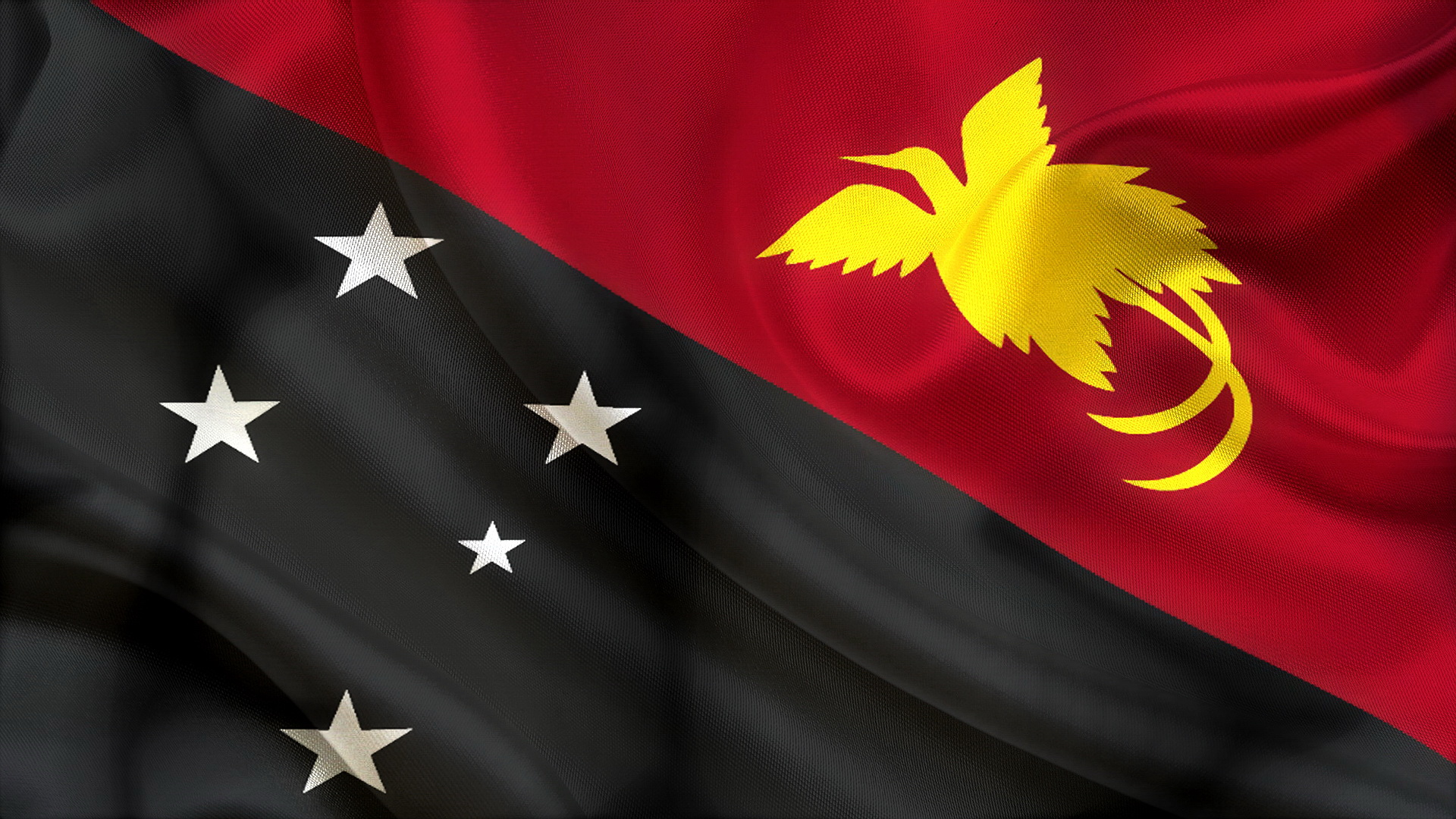 Papua New Guinea Flag wallpaper 1920x1080 98225 WallpaperUP 1920x1080