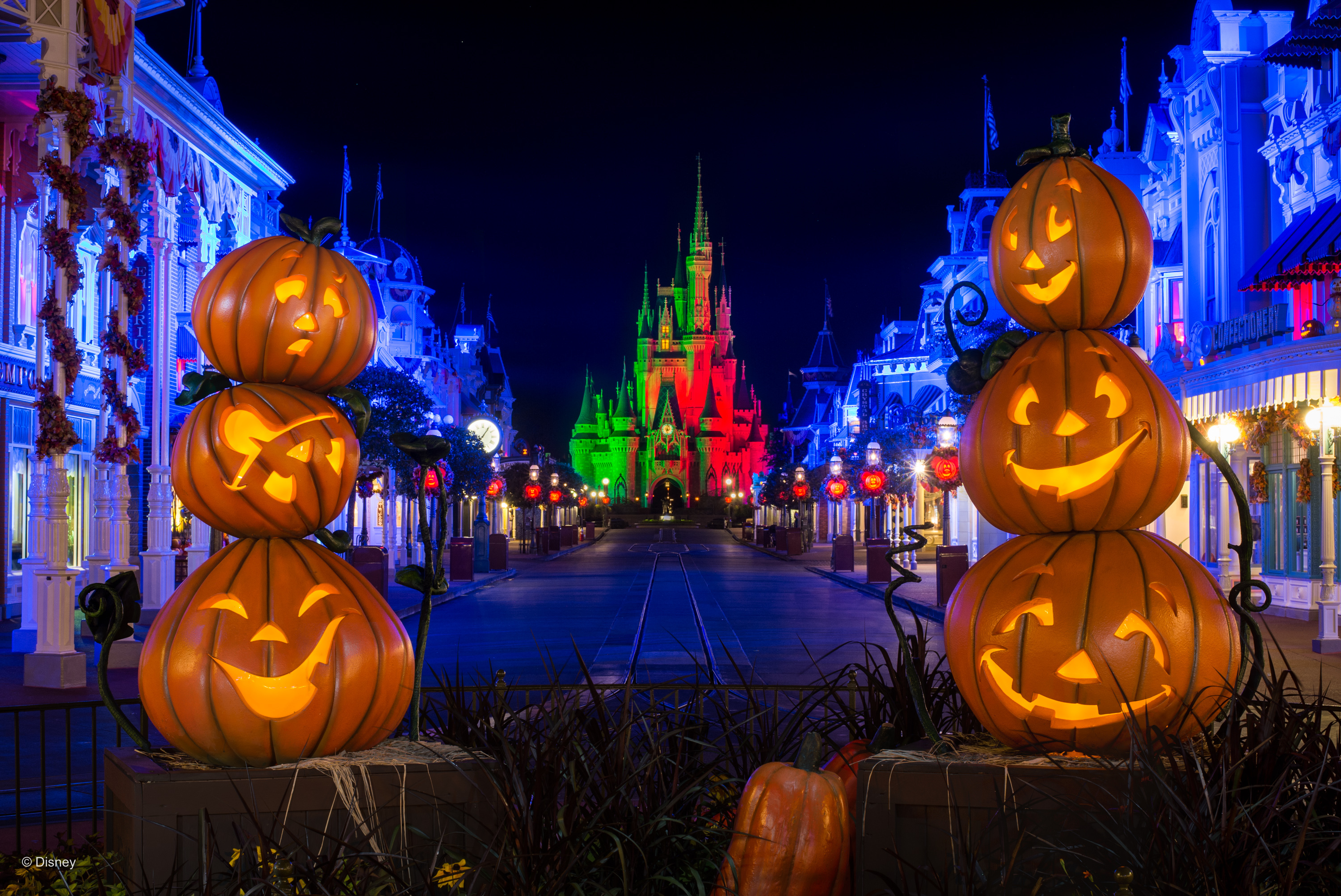 PHOTOS New Halloween PhotoPass Wallpapers Now Available from Walt 3000x2006