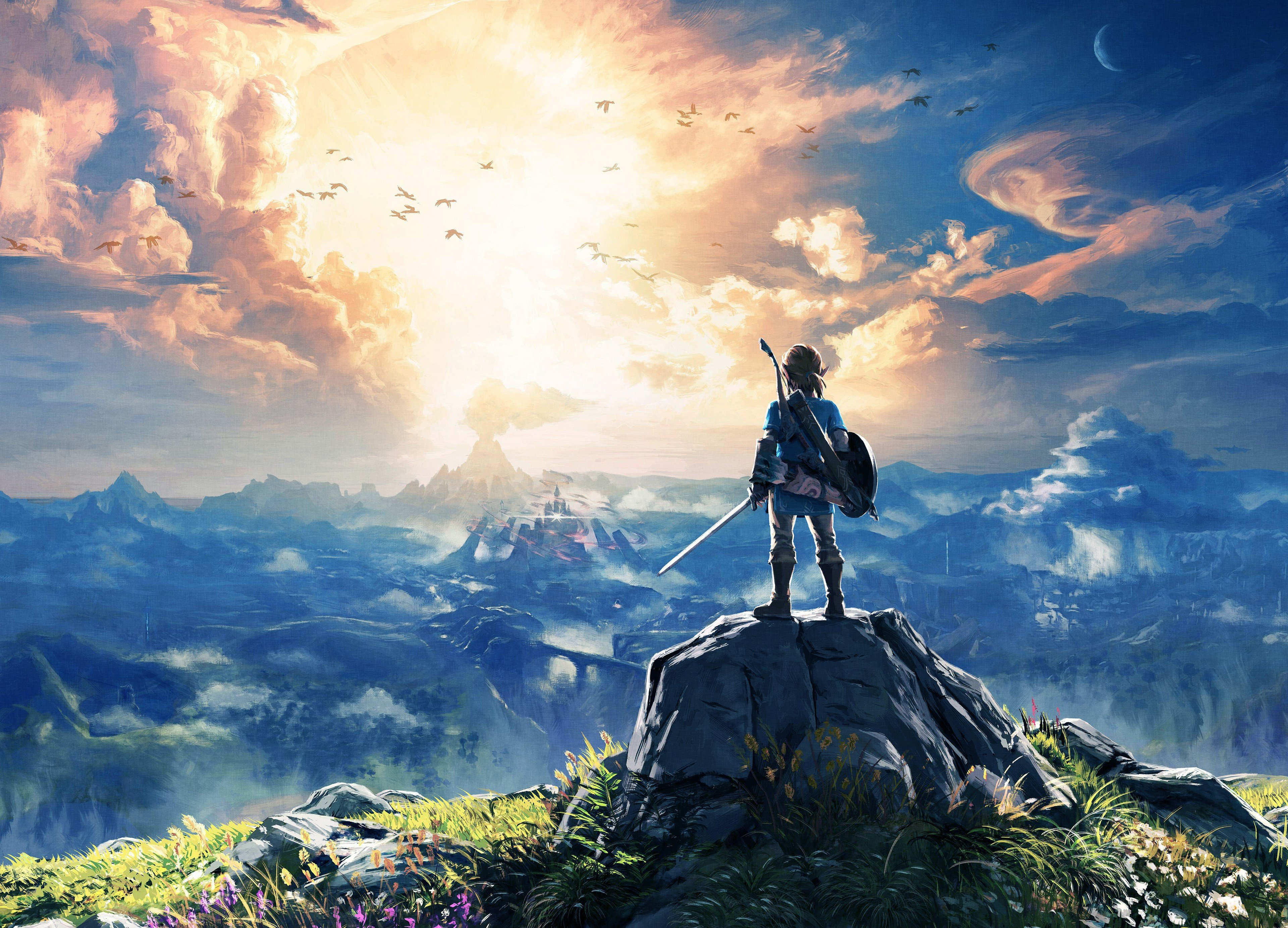 The Legend of Zelda Breath of the Wild HD Wallpapers and 3840x2765