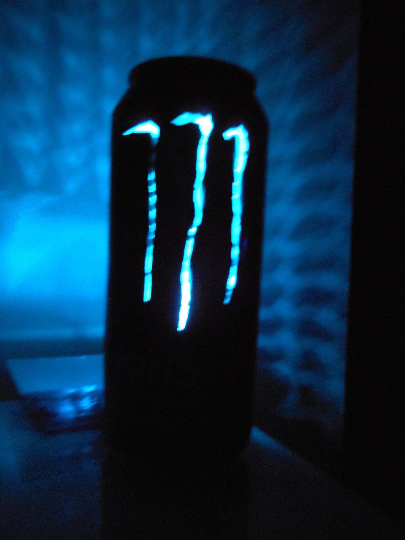 Monster Energy Absolute Zero Can Light II by lizking10152011 on 1024x1365