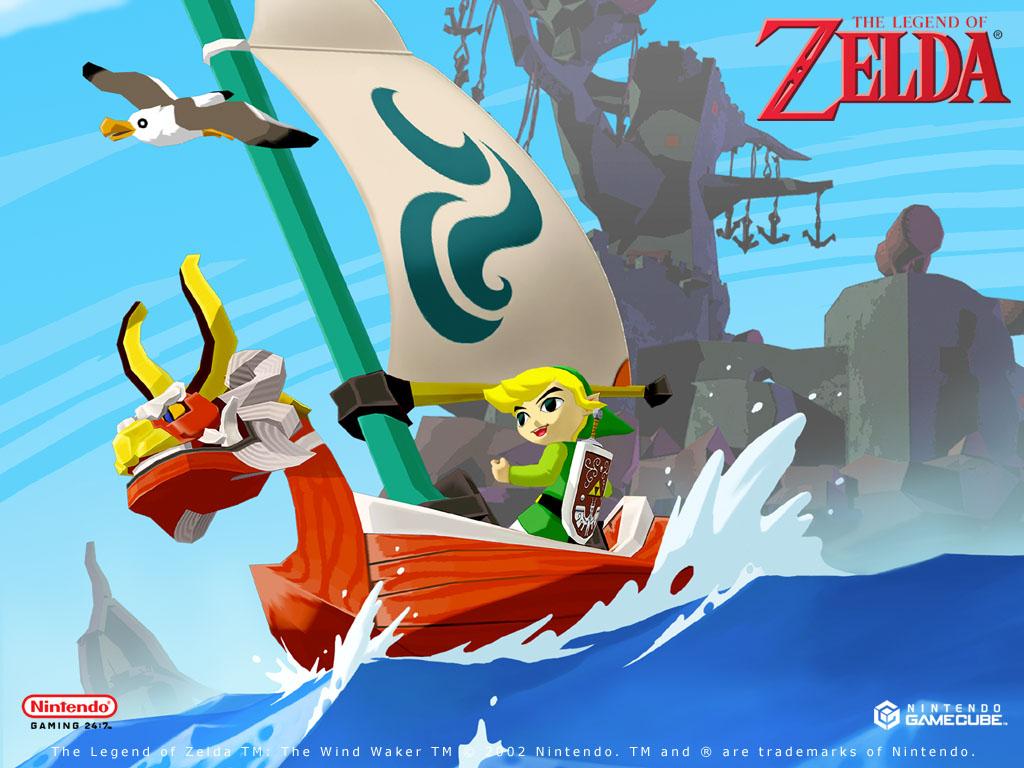 Zelda The Wind Waker   Official Wallpapers Desktops Backgrounds 1024x768