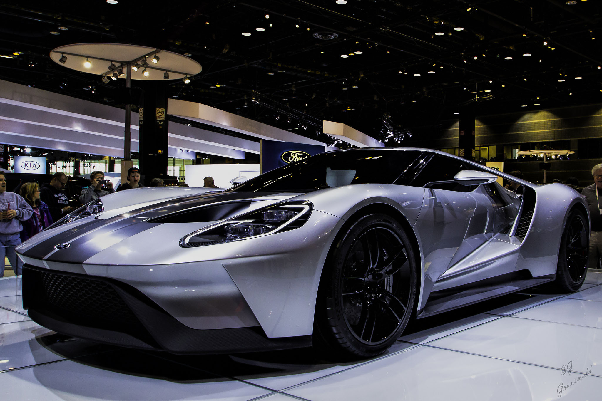 ford gt 2016 wallpapers and backgrounds 2048x1365