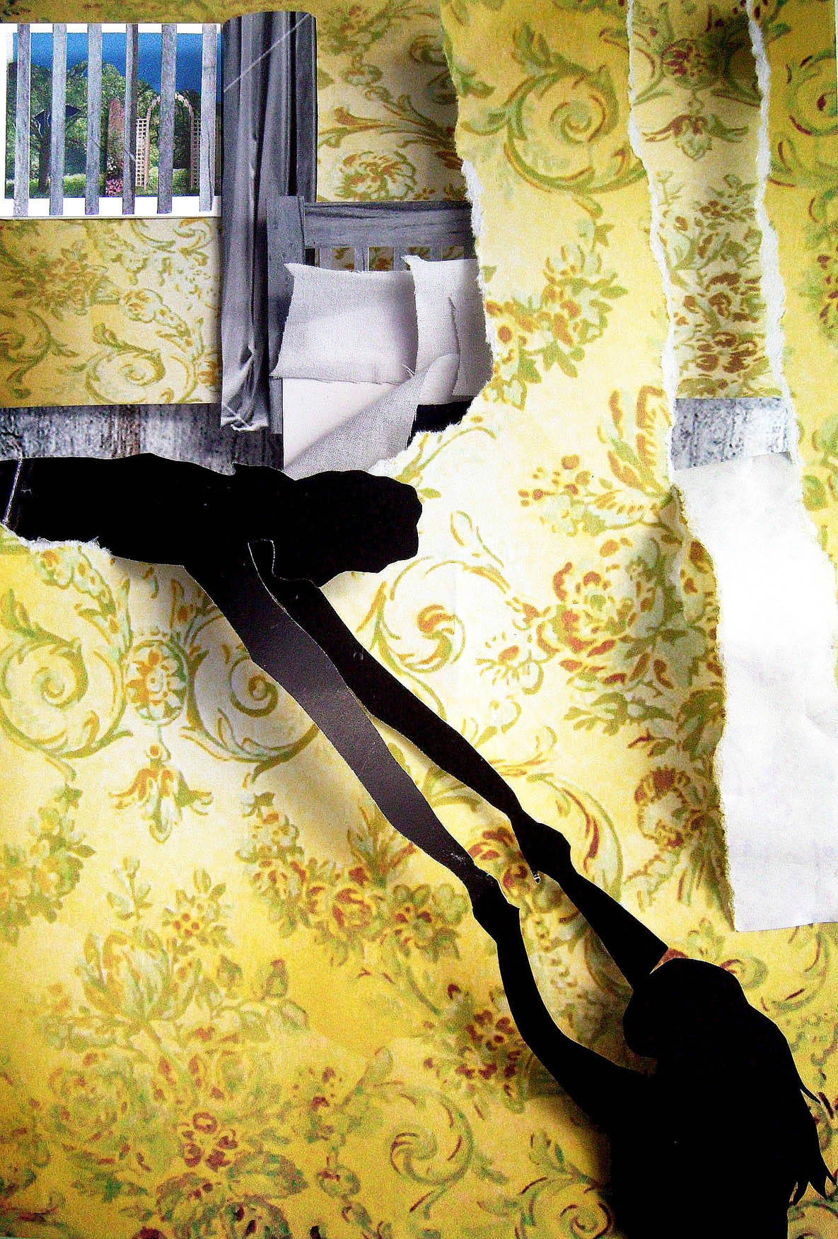 yellow wallpaper analysis Summary of the yellow wallpaper in the yellow wallpaper, the narrator suffers from a nervous condition, and her husband, who was a doctor, recommends that she.